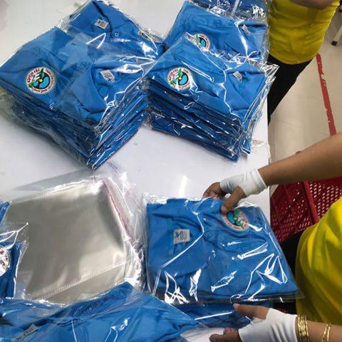 Trung tâm giáo dục nghề nghiệp Nam Tây Nguyên nhận áo đồng phục lần 8