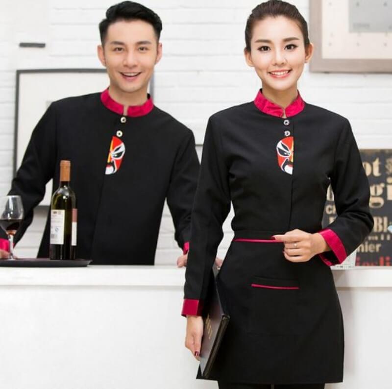 mẫu đồng phục nhân viên quán bar 14