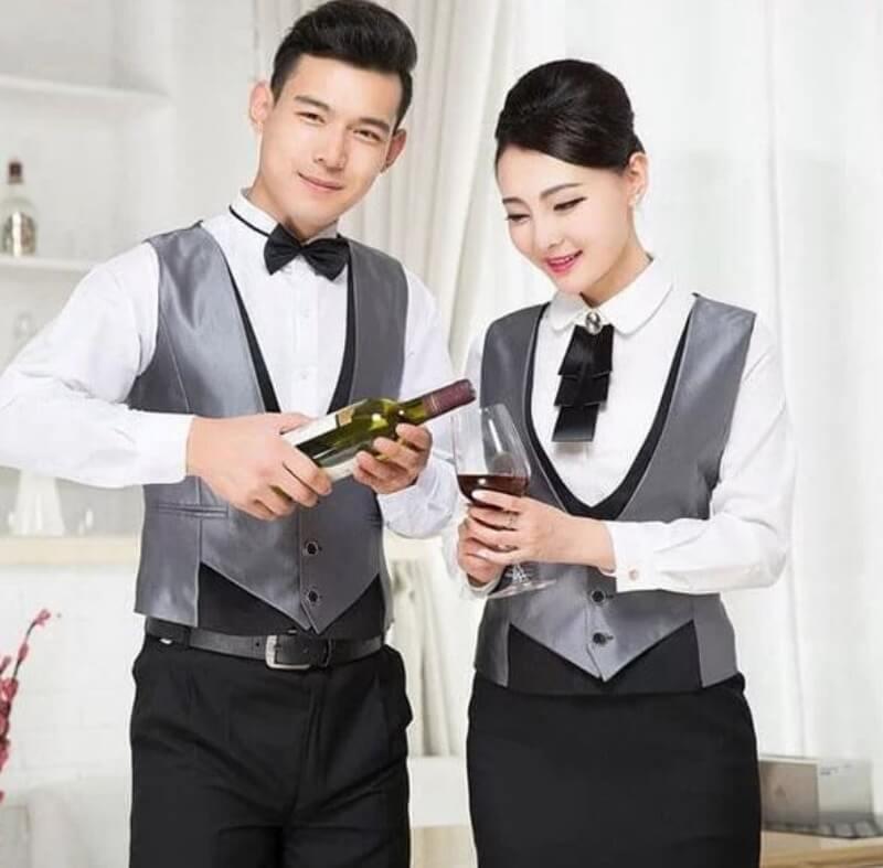 mẫu đồng phục nhân viên quán bar 7