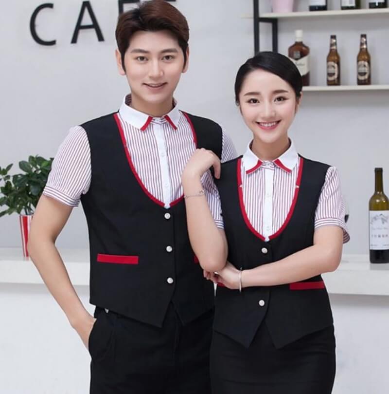 mẫu đồng phục nhân viên quán bar 9