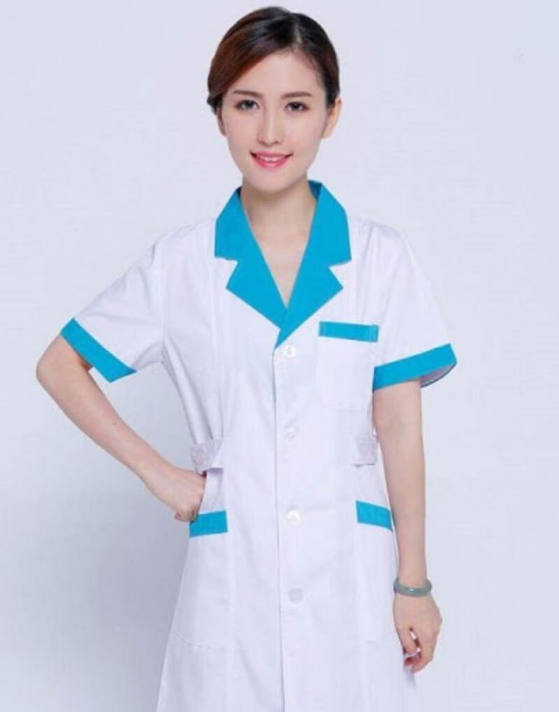 mẫu đồng phục y tá điều dưỡng 1