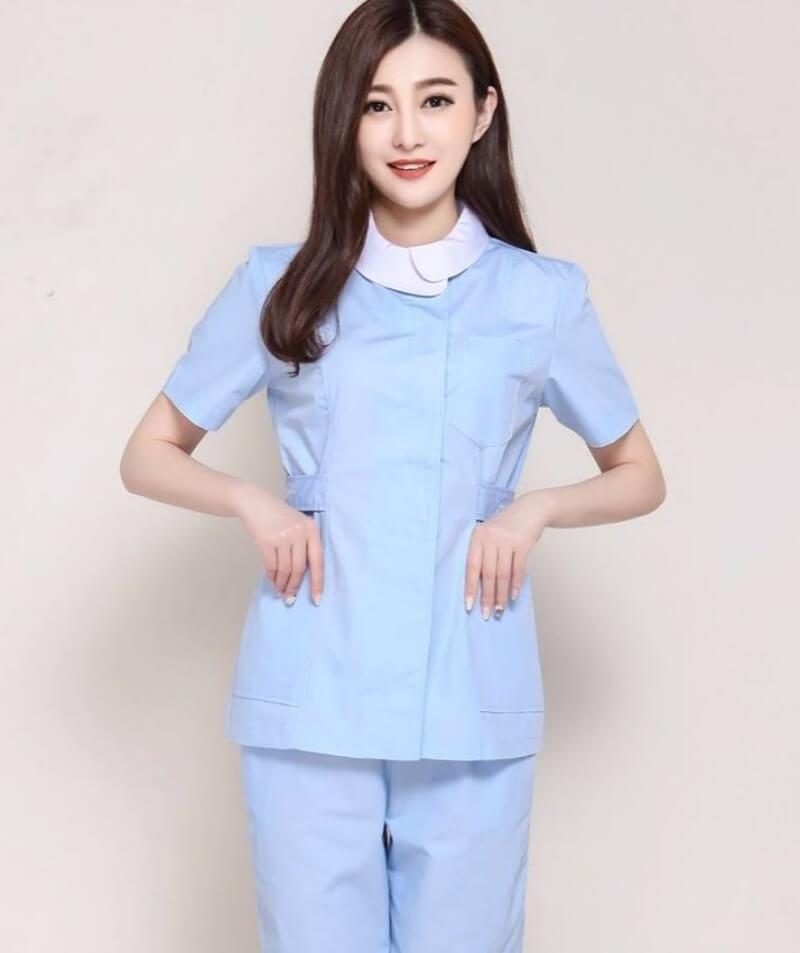mẫu đồng phục y tá điều dưỡng 11