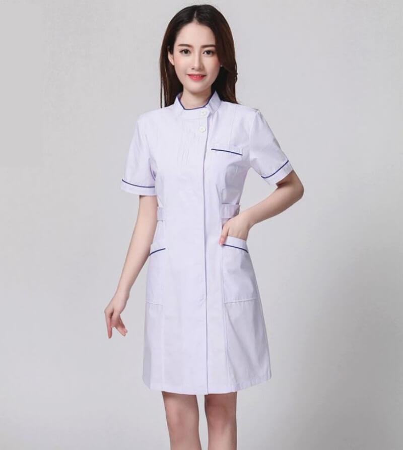 mẫu đồng phục y tá điều dưỡng 12