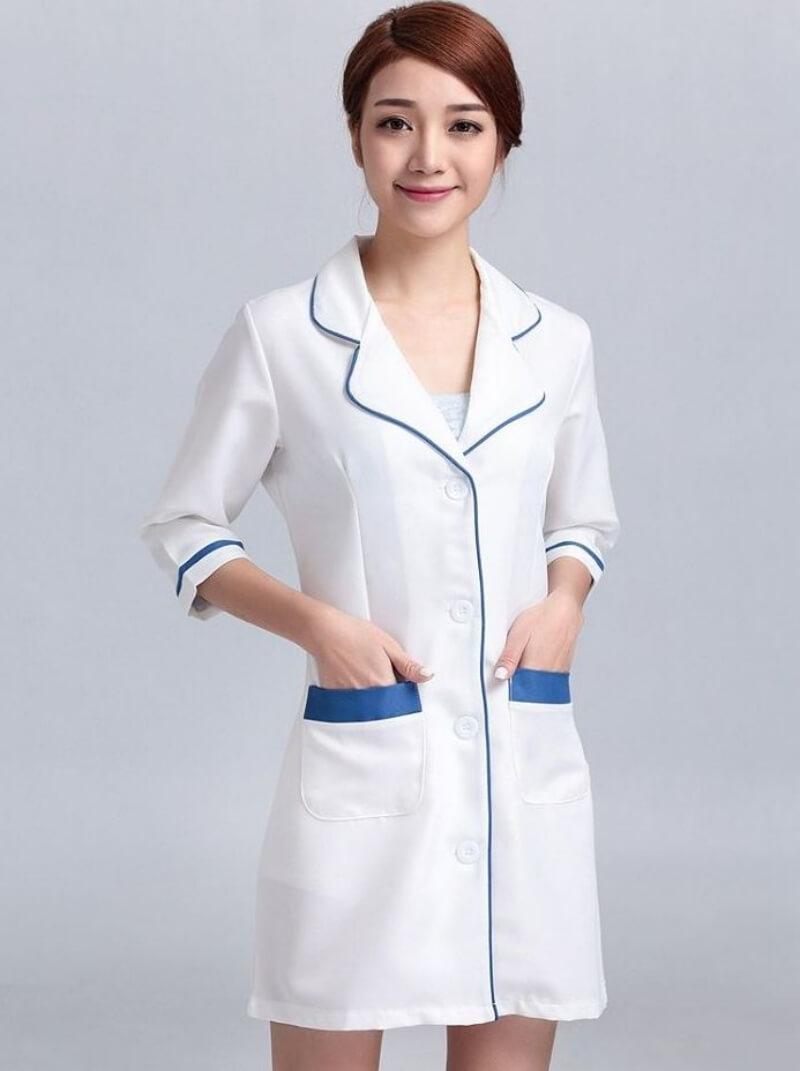 mẫu đồng phục y tá điều dưỡng 6