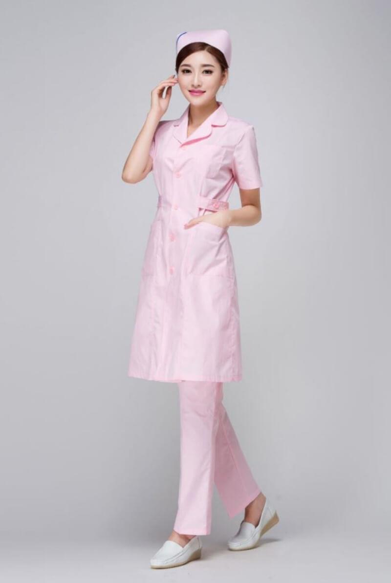 mẫu đồng phục y tá điều dưỡng 8