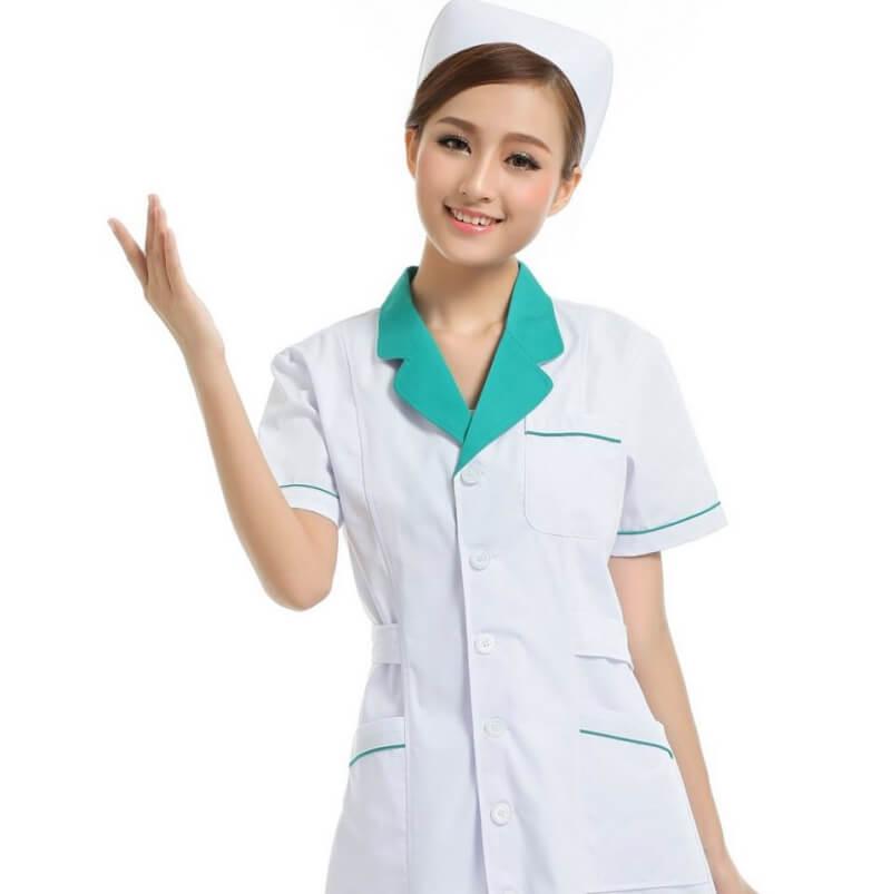 mẫu đồng phục y tá điều dưỡng 9