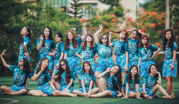 Xưởng may in đồng phục, áo lớp tại Hà Nội
